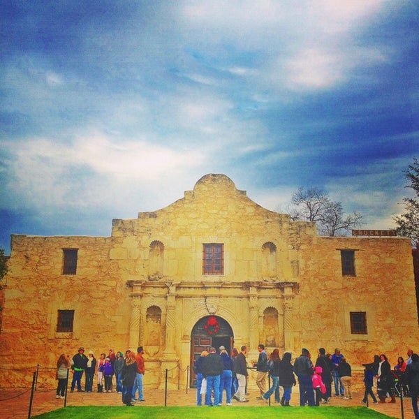 Photo taken at The Alamo by Bryce C. on 1/6/2013