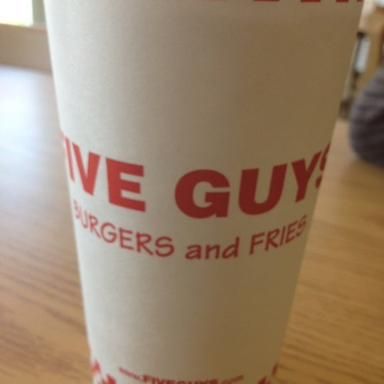 Photo taken at Five Guys by Edgar I. on 10/9/2012