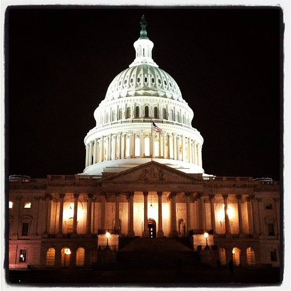 Photo taken at United States Capitol by Stacey H. on 3/12/2013
