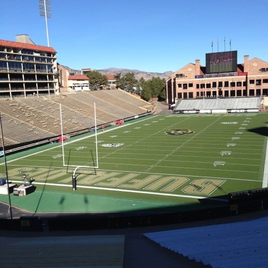 Photo taken at Folsom Field by Tom H. on 11/23/2012