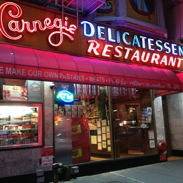 Photo taken at Carnegie Deli by H H. on 1/6/2013