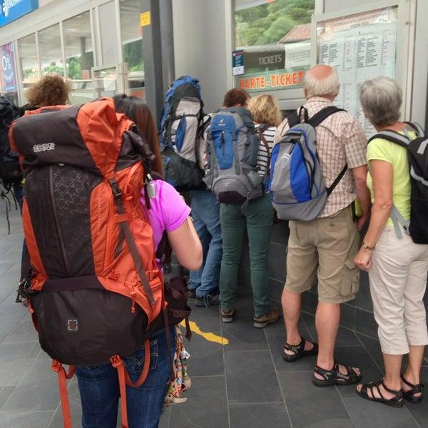 Photo taken at Autobusni Kolodvor Dubrovnik | Dubrovnik Bus Station by Lee J. on 6/4/2013