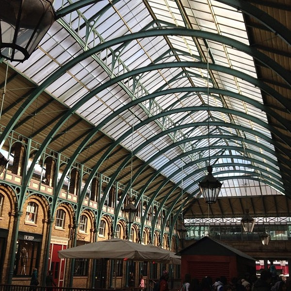 Photo taken at Covent Garden Market by Stefano S. on 3/17/2013
