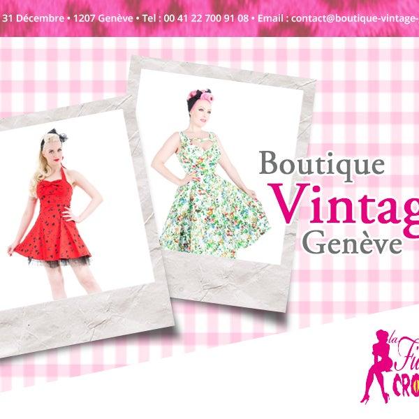Boutique vintage pour les Pin-up, les nostalgiques du retro, les effeuilleuses burlesque, les accros du Rock-a-Billy, les fans de Lindy Hop et toutes les femmes séduisantes jusqu'aux bouts des gants !