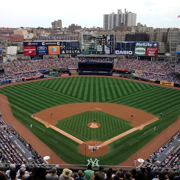 Photo taken at Yankee Stadium by Paulie G. on 7/27/2013