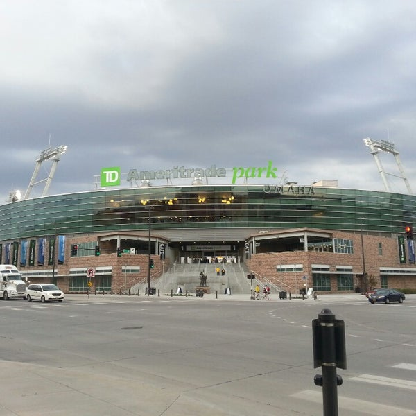 Photo taken at TD Ameritrade Park by Mike V. on 5/1/2013