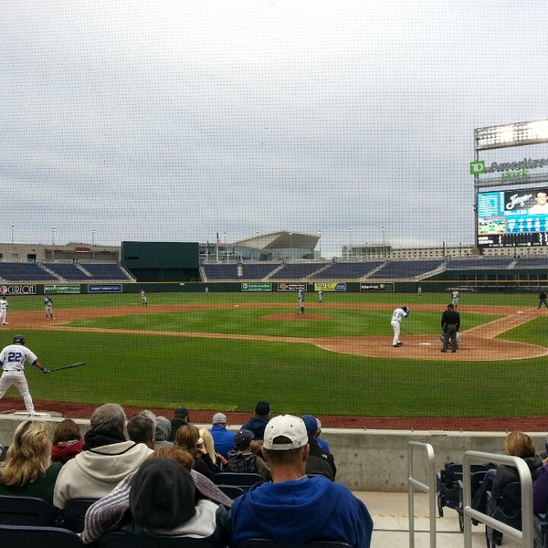 Photo taken at TD Ameritrade Park by Mike V. on 4/16/2013
