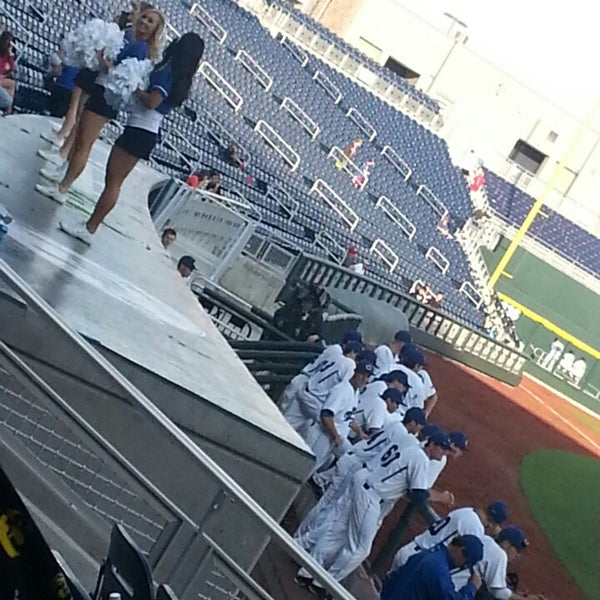 Photo taken at TD Ameritrade Park by Mike V. on 4/27/2013