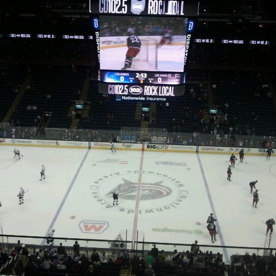 Photo taken at Nationwide Arena by Bill R. on 2/5/2013