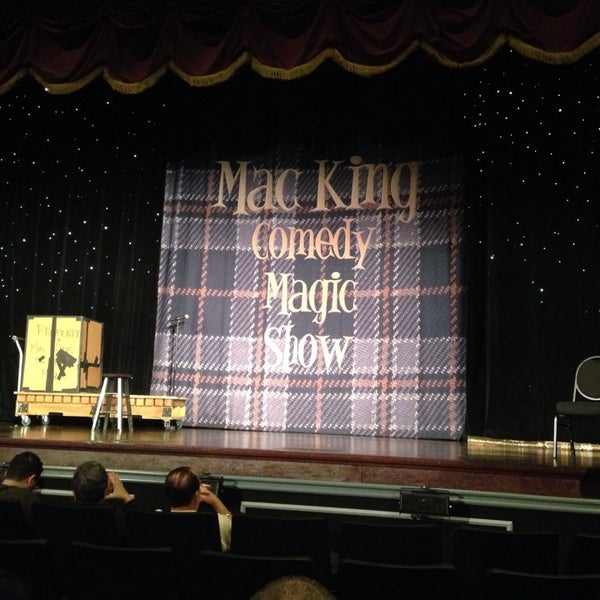 Photo taken at The Mac King Comedy Magic Show by 🌵Andrew K. on 12/24/2013