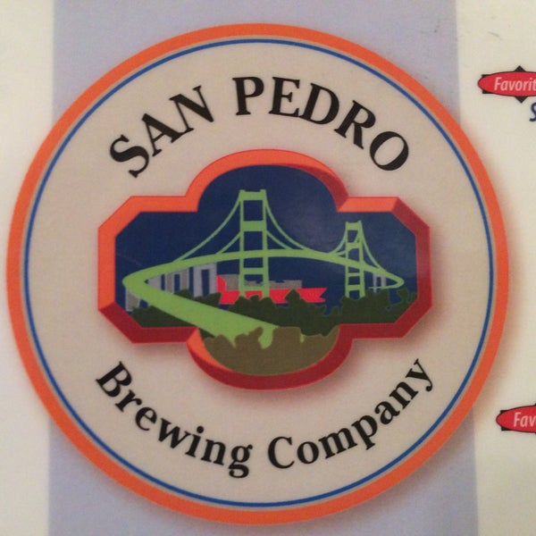 Photo taken at San Pedro Brewing Company by TheGreenGirl on 2/22/2016