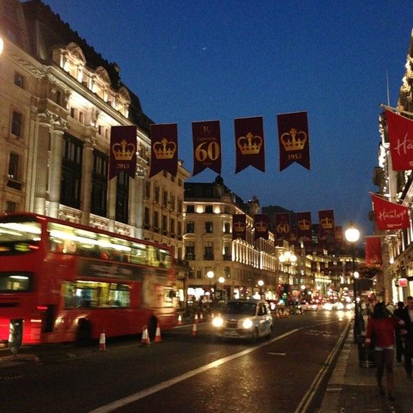 Photo taken at Oxford Street by Ilknur C. on 7/6/2013