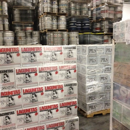 Photo taken at Union Beer Distributors by Michelle A. on 11/27/2012