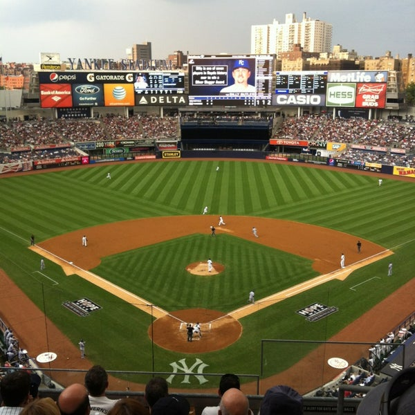 Photo taken at Yankee Stadium by Kristen E. on 7/8/2013