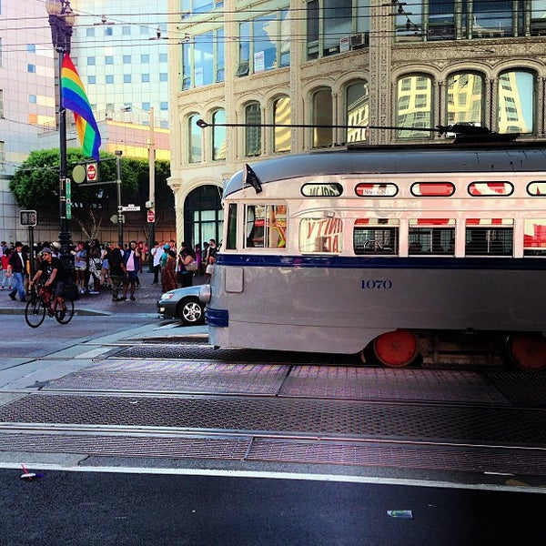 Photo taken at Civic Center/UN Plaza BART Station by Efrain G. on 6/30/2013