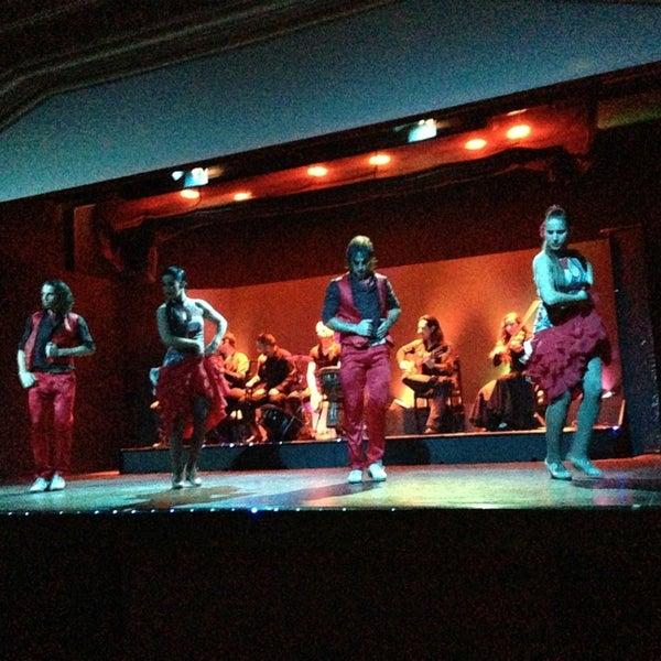 Photo taken at Palacio del Flamenco by Paola M. on 12/27/2012