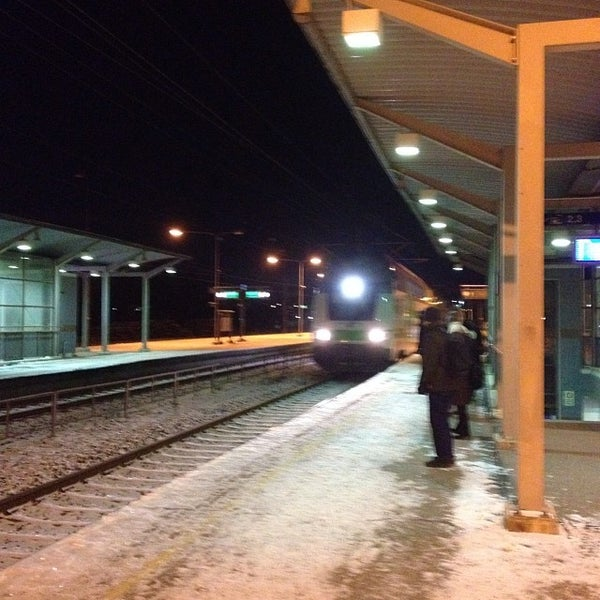 VR InterCity IC 942 - Train in Turku