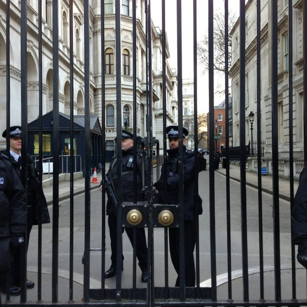 Photo taken at 10 Downing Street by mintense on 2/4/2013