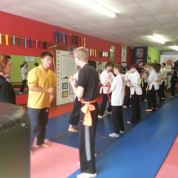Photo taken at Meng's Martial Arts of Richmond by Justin O. on 9/12/2015
