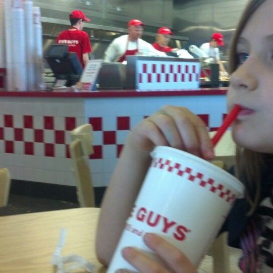 Photo taken at Five Guys by Michael S. on 3/30/2013
