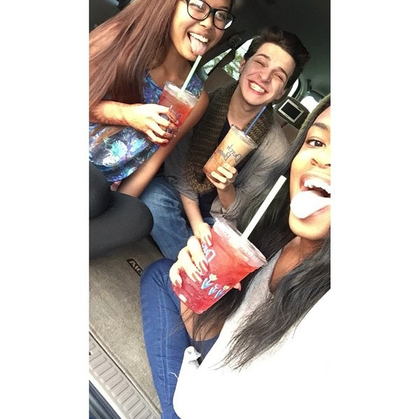 Photo taken at Dutch Bros. Coffee by Christopher R. on 11/11/2014