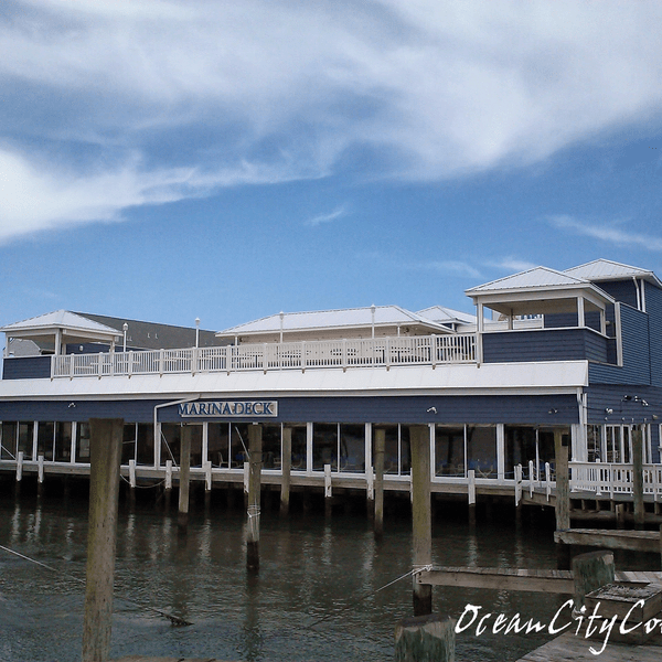 Photo taken at Marina Deck Resturant by Robert B. on 4/2/2014