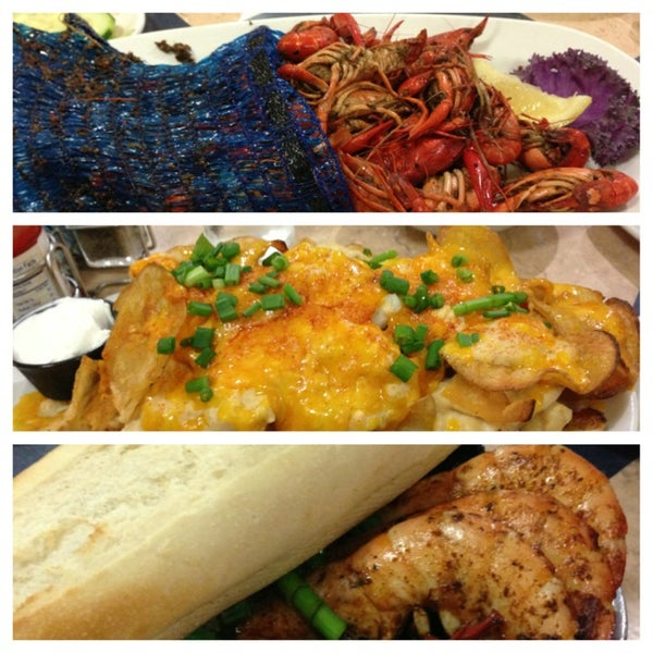 Photo taken at Deanie's Seafood by Editha C. on 2/10/2013