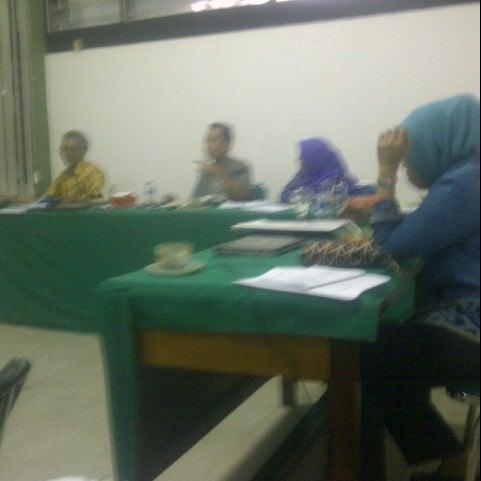 Photo taken at Institut Ilmu Sosial dan Ilmu Politik (IISIP) by Djony H. on 6/8/2013