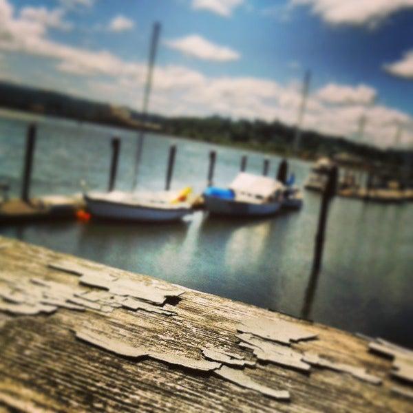 Photo taken at Coos Bay Boardwalk by Lauren P. on 5/31/2013