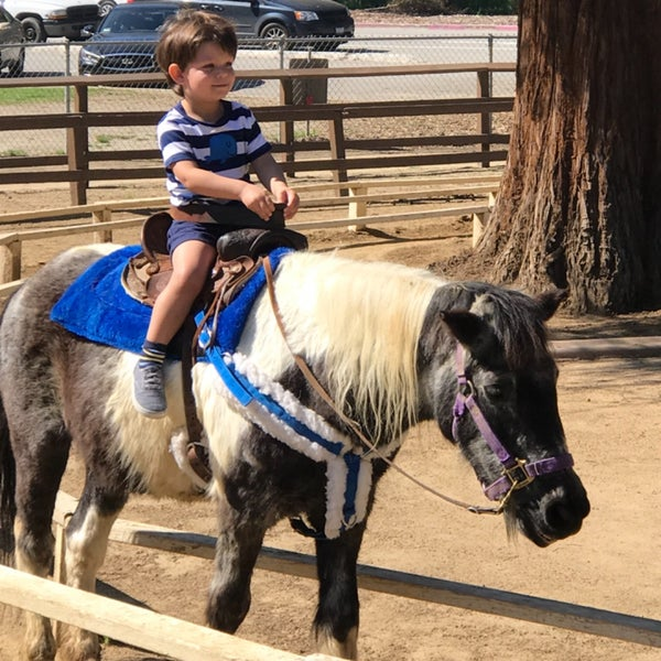 Photo taken at Griffith Park Pony Rides by Christine K. on 3/12/2017