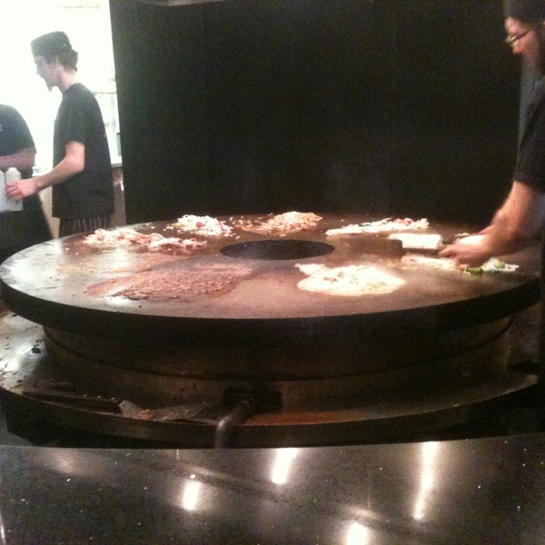 Photo taken at HuHot Mongolian Grill by Carlos C. on 12/29/2012