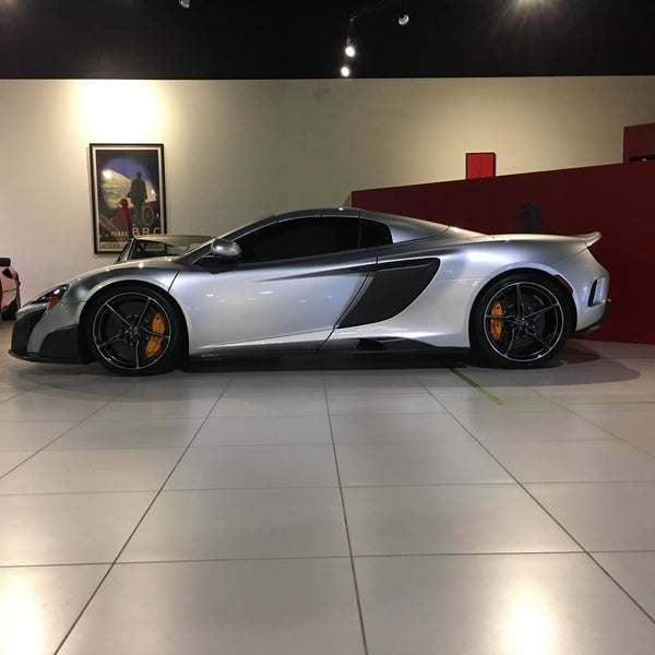 Photo Taken At Lake Forest Sportscars By Thomas K. On 10/2/2016