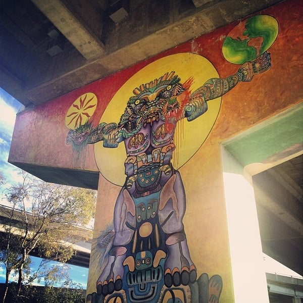 Photo taken at Chicano Park by Amanda W. on 11/26/2013