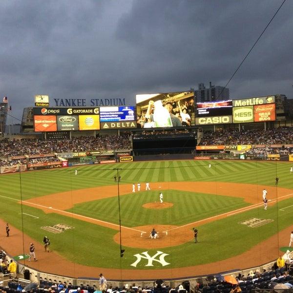 Photo taken at Yankee Stadium by Nick J. on 7/12/2013