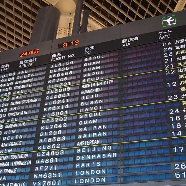 Photo taken at Narita International Airport (NRT) by Kei N. on 8/23/2013
