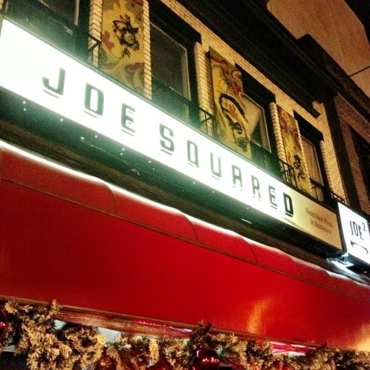 Photo taken at Joe Squared Pizza & Bar by Alyssa W. on 12/12/2012