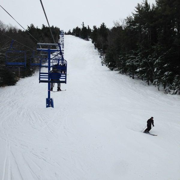 Photo taken at Pat's Peak Ski Area by Larry R. on 12/29/2012