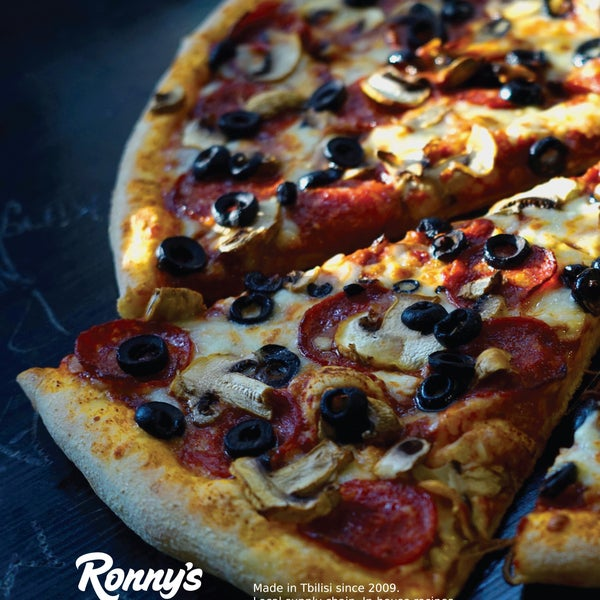 Photo taken at Ronny's Pizza Saburtalo | რონის პიცა საბურთალო by Ronny's Pizza on 1/24/2016