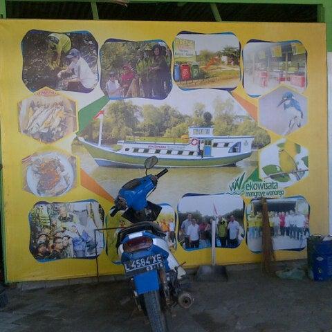 Photo taken at Ekowisata Mangrove by Makati W. on 8/2/2014