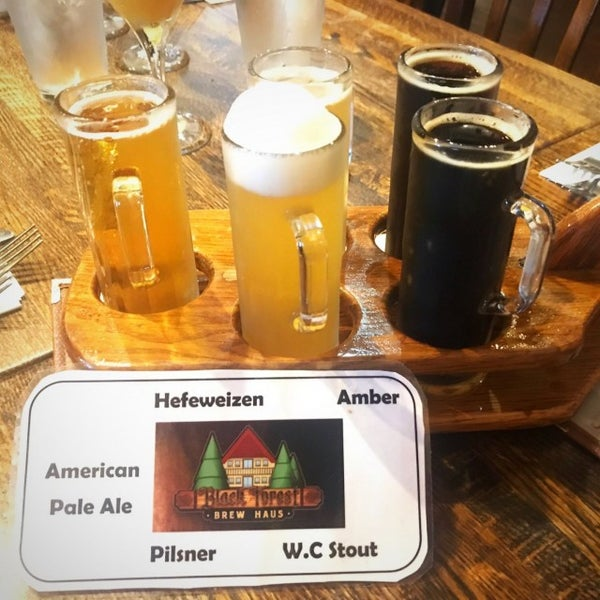 Photo taken at Black Forest Brew Haus by Bob C. on 6/18/2017