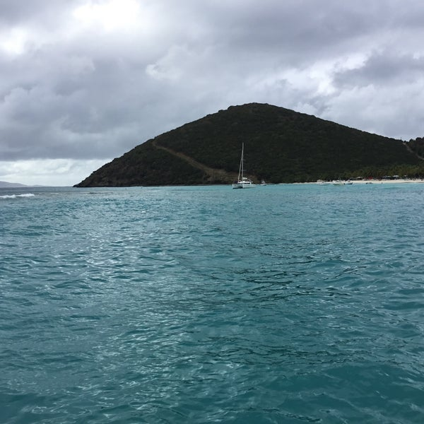 Photo taken at Jost Van Dyke Island by Caner A. on 3/6/2017