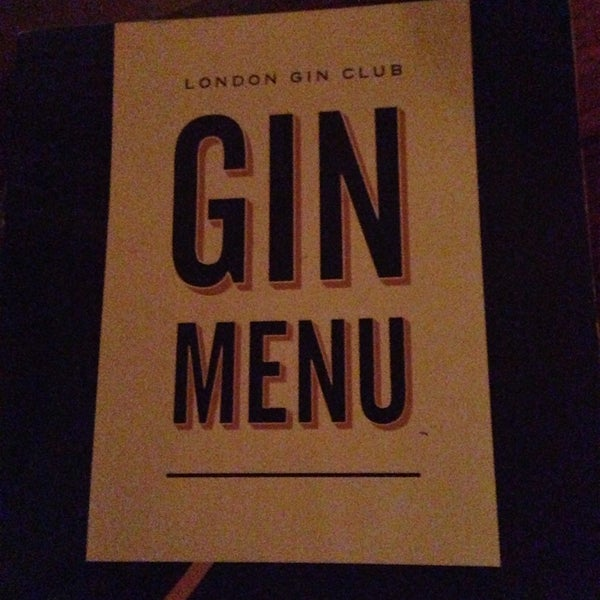 Amazing place to drink Gin