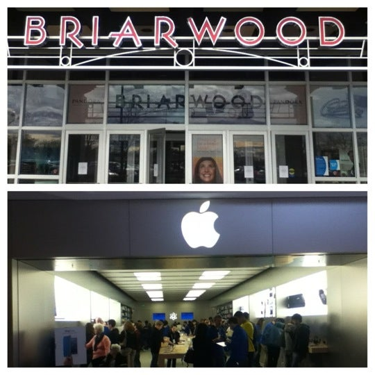 The Apple Store is located in Briarwood Mall, at Briarwood Circle in Ann Arbor, MI. Traveling on I, exit State Street and head north. Briarwood Mall is ahead on the left. The Apple Store is located in the JCPenney wing, next to The Limited. Closest parking for the Apple Store is .