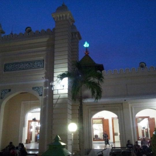 Photo taken at Masjid Jami' Kauman Pekalongan by Wawan S. on 10/28/2012