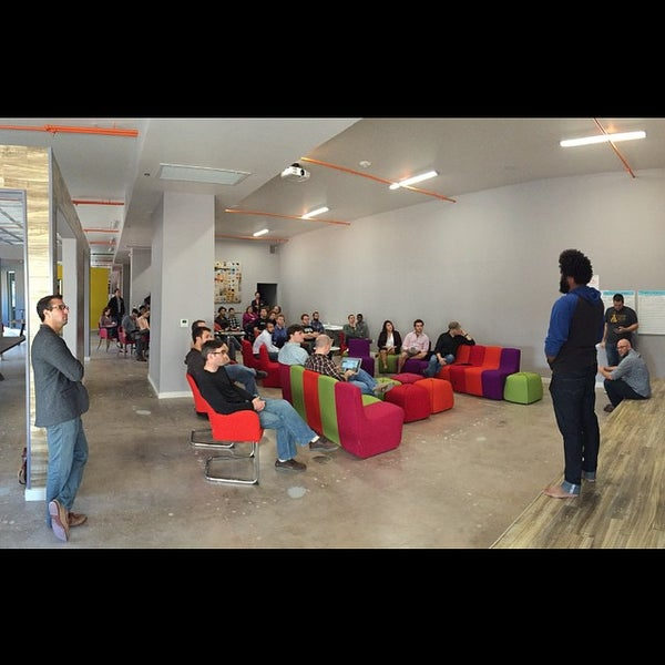 Photo taken at Tech Wildcatters (The Tech Church) by Michael S. on 12/13/2014