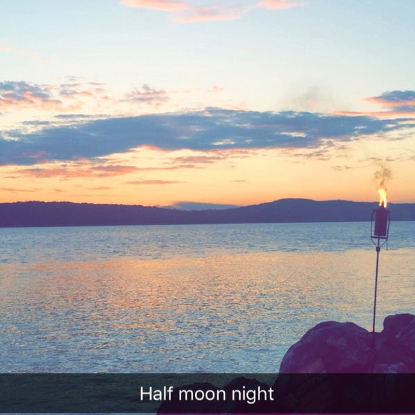 Photo taken at Half Moon by Lexie P. on 6/25/2016