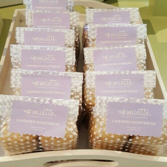 Photo taken at Miette Patisserie by Taci O. on 3/27/2016