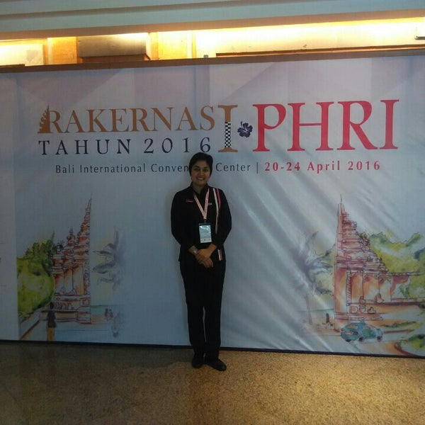 Photo taken at Bali International Convention Centre (BICC) by Maria R. on 4/22/2016