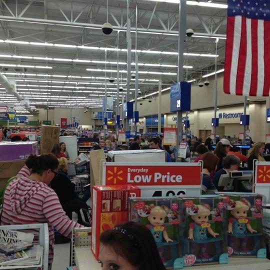 Photo taken at Walmart Supercenter by Nancy G. on 11/23/2012