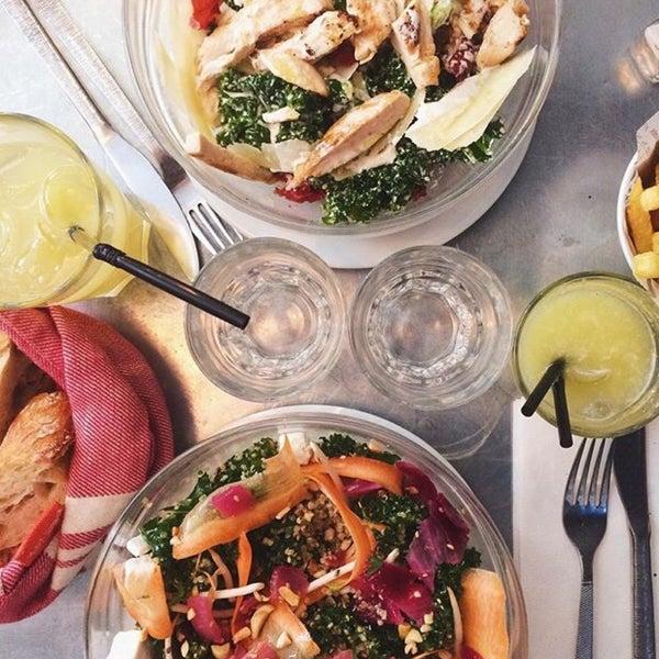 Healthy Food & Détox Juice @Harper's Paris ! #Miam